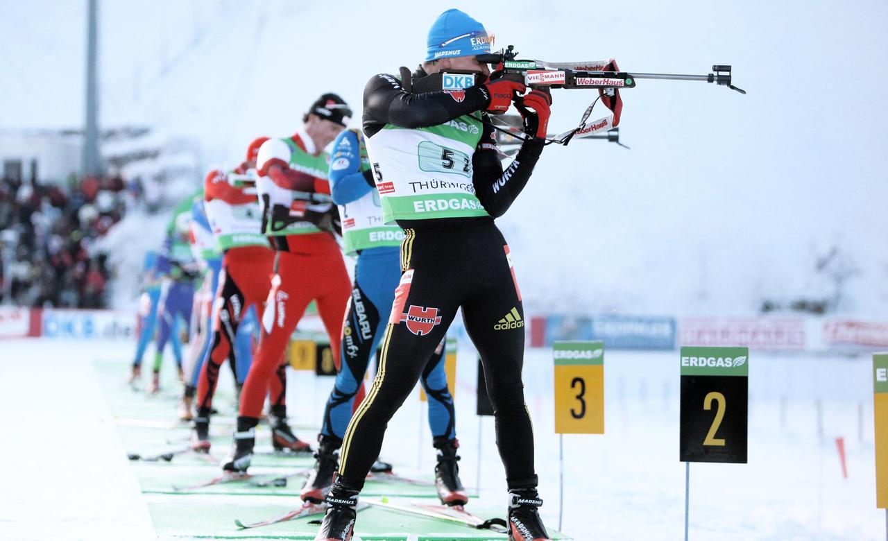 Biathlon Disziplinen